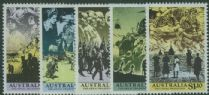 "AUS SG1241-5 ""The Anzac Tradition"" set of 5"
